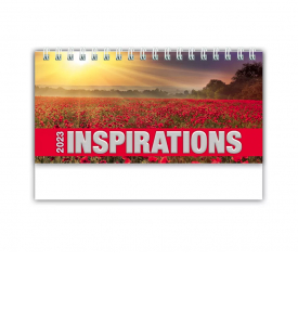 Inspirations 6-Sheet Desk Calendar