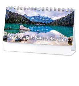 Scenes Across America 6-Sheet Desk Calendar
