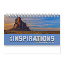 Inspirations 12-Sheet Desk Calendar