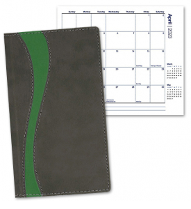 Duo Curve Pocket Planner, Monthly