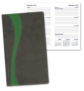 Duo Curve Pocket Planner, Weekly
