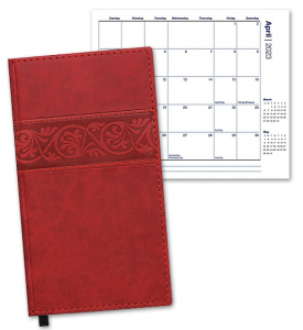 Duo Essence Pocket Planner, Monthly