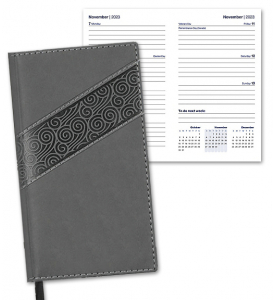Duo Swirl Pocket Planner, Weekly