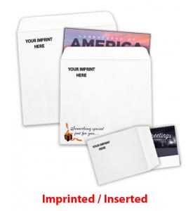 Calendar Envelope C -- IMPRINTED / INSERTED