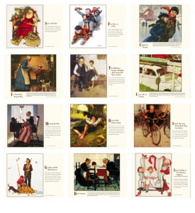 Norman Rockwell Memorable Images Calendar