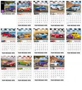 Road Warriors Calendar
