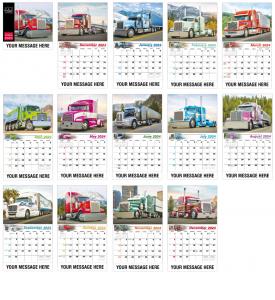 Kings of the Road Calendar