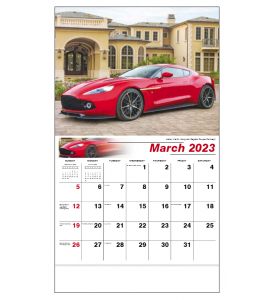 Exotic Cars Calendar II