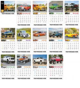 Pumped Up Pickup's Calendar