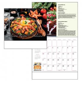 Delicious Recipes Delicioso Calendars