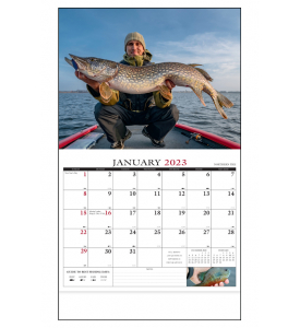 Fisherman's Guide Calendar