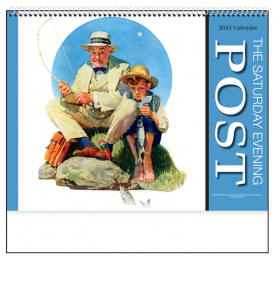 The Saturday Evening Post II Spiral Calendar
