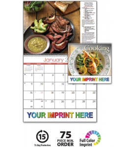 Taste for Cooking Spiral Calendar