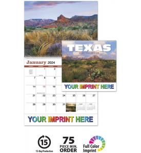 Texas Spiral Calendar
