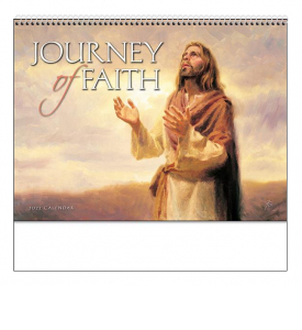 Journey of Faith (Universal, Spiral) Calendar
