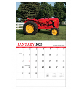 Legendary Tractors Calendar