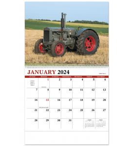 Legendary Tractors Spiral Calendar
