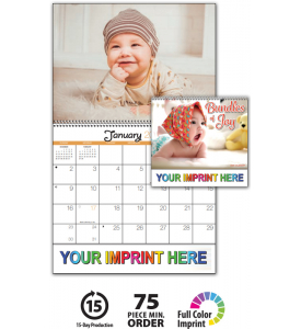 Bundles of Joy Spiral Calendar