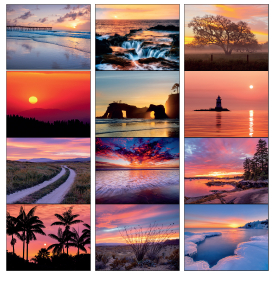 Dawn to Dusk Calendar