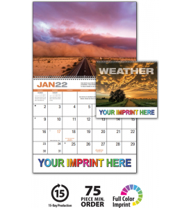 Weather Almanac Spiral Calendar