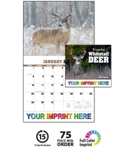 Trophy Whitetails Calendar