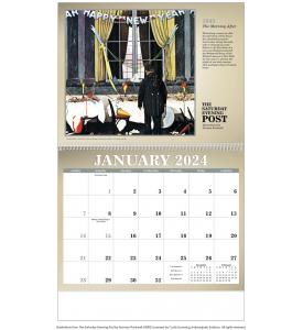 The Saturday Evening Post Calendar II