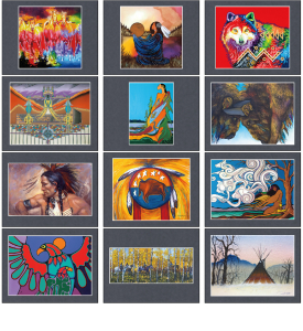 Native American Art Calendar