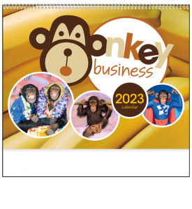 Monkey Business Calendar