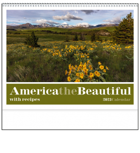 America the Beautiful with Recipes Calendar