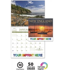 New England Scenes Calendar
