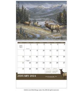 Wildlife Art Calendar