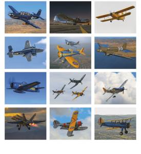 Planes Calendar