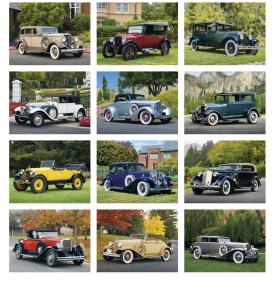 Antique Cars Calendar