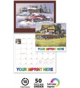 Junkyard Classics by Dale Klee Calendar
