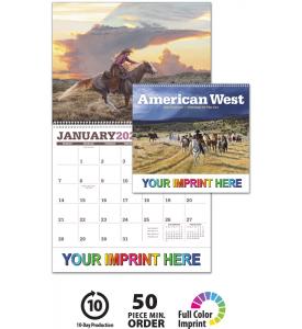 American West by Tim Cox Calendar