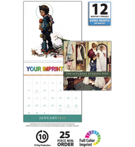 The Saturday Evening Post Calendar IV