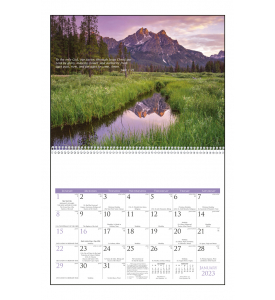Catholic Scenic Calendar