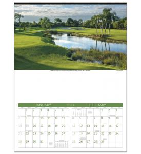 Golf (6-Sheet) Calendar
