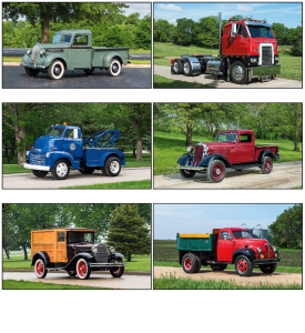 Antique Trucks (6-Sheet) Calendar