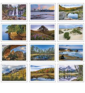 Beautiful America Pocket Calendar