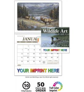 Wildlife Art Pocket Calendar