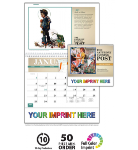 The Saturday Evening Post Pocket Calendar