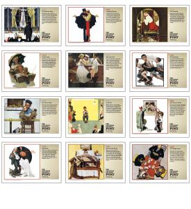 The Saturday Evening Post Pocket Calendar