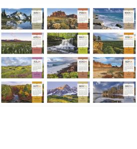 American Splendor Desk Calendar