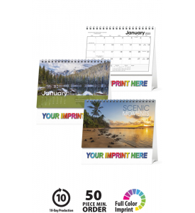 Scenic Moments Large Desk Calendar