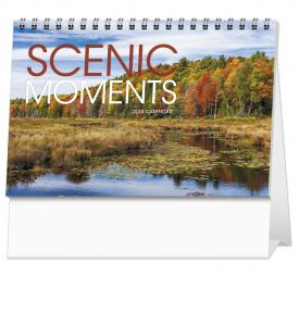 Scenic Moments Large Desk Calendar