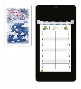 Weekly Board Calendars w/Easel Back (Bi-Weekly) - SOLID COLORS