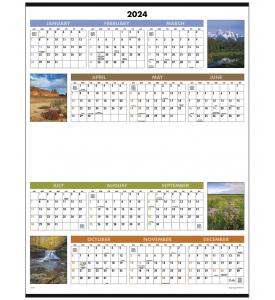 Scenic Span-A-Year Calendar