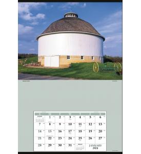 Jumbo Hanger Calendar with 12-Month Grid