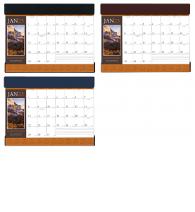 Motivations Vinyl Desk Pad Calendar